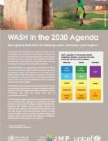 SDG WASH indicators