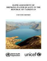 WHO UNICEF RADWQ Tajikistan Report